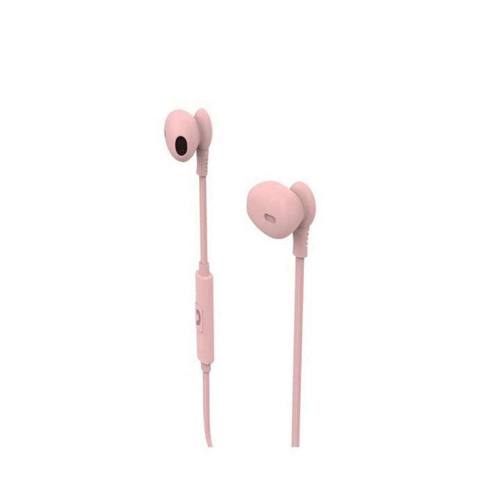 [해외]MUVIT M1C Stereo 3.5 mm Headphones 7137552783 Pink