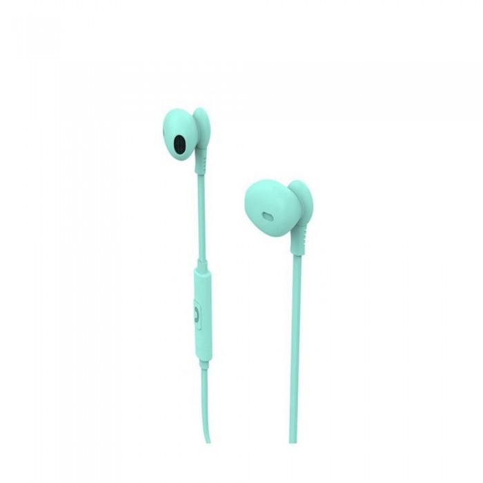 [해외]MUVIT M1C Stereo 3.5 mm Headphones 7137552784 Turquoise