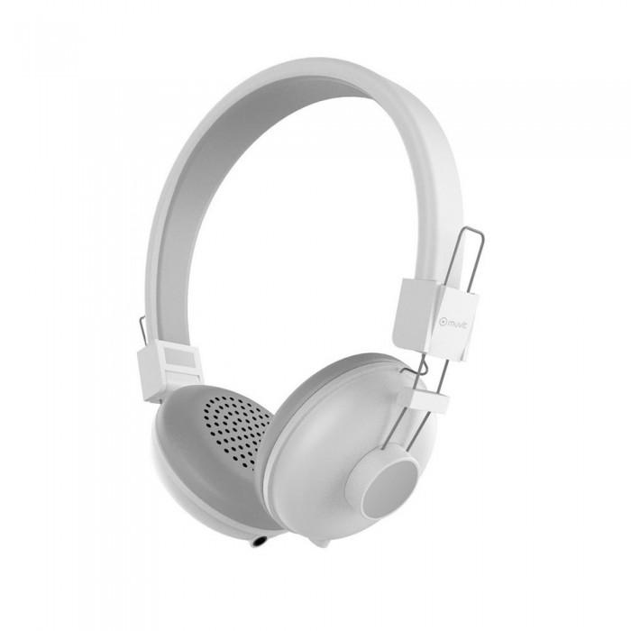[해외]MUVIT N1C Stereo 3.5 mm Headphones 7137552896 White