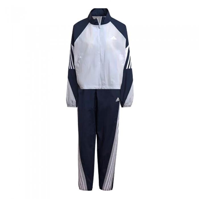 [해외]아디다스 Sportswear Game-Time Woven 7137913481 Halo Blue / Crew Navy / White
