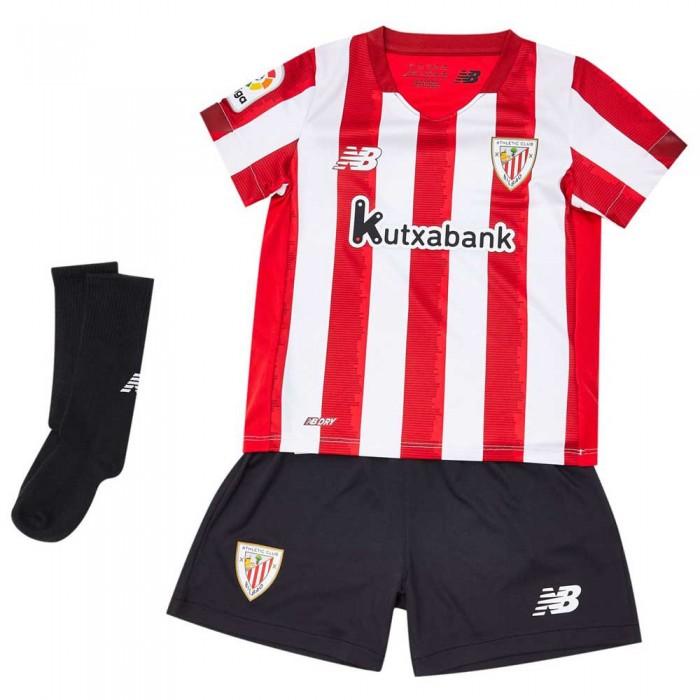 [해외]뉴발란스 Athletic Club Bilbao Home Infant Kit 20/21 3137616124 Hme