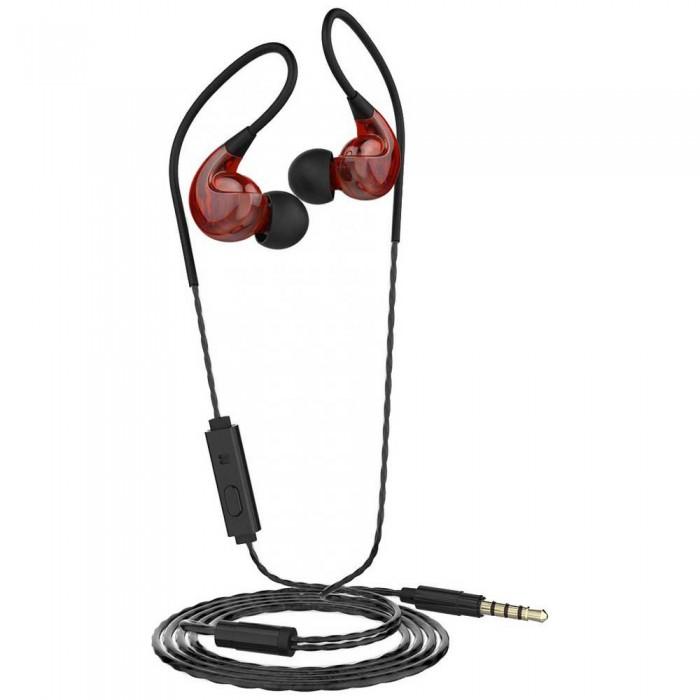 [해외]MUVIT M1S V2 Stereo 3.5 mm Sport 6137557757 Red