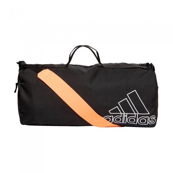[해외]아디다스 Sports Canvas Duffel 32.5L 6137894468 Black / White