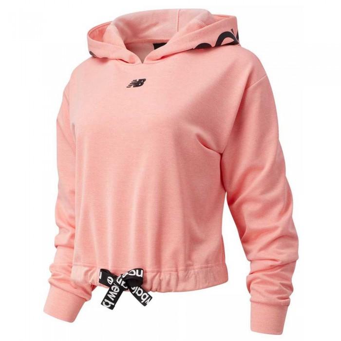 [해외]뉴발란스 Relentless Cinched Hem 6137929473 Paradise Pink Heather