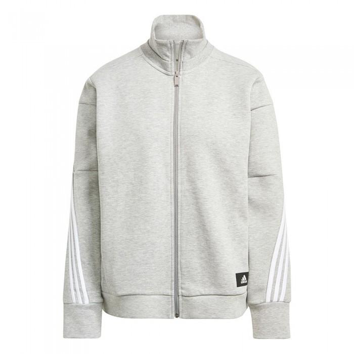 [해외]아디다스 Sportswear Wrapped 3-Stripes 6137925946 Medium Grey Heather / White