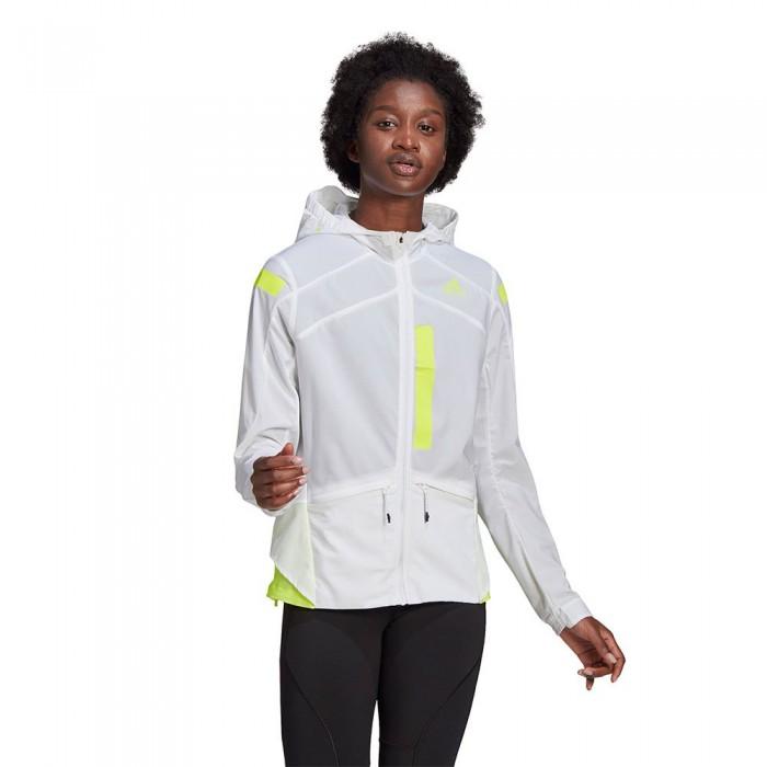 [해외]아디다스 Marathon Translucent 6137926196 White / Solar Yellow