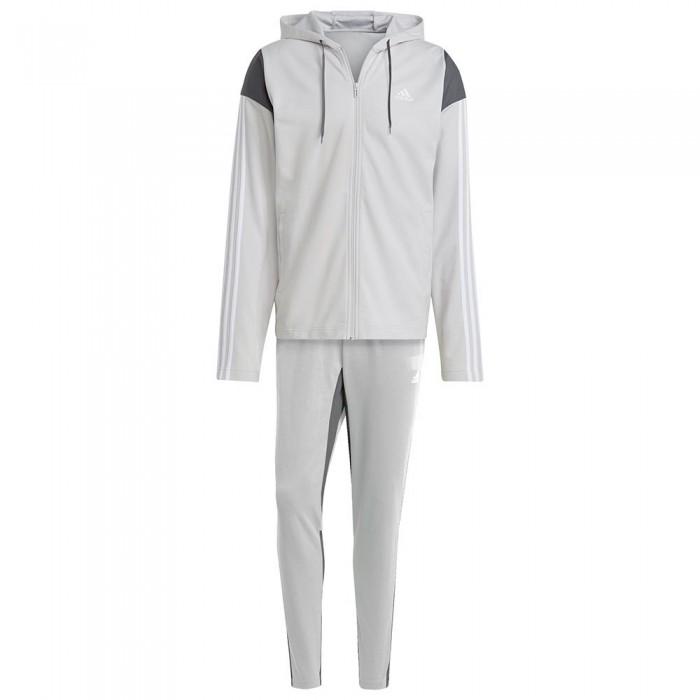 [해외]아디다스 Sportswear Ribbed Insert 6137913535 Grey One / Grey Four