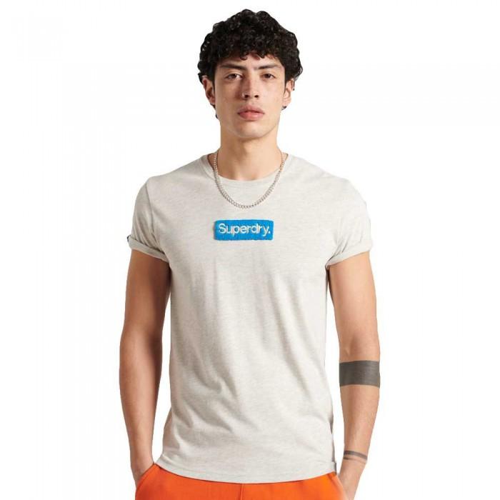 [해외]슈퍼드라이 Core Logo Workwear 220 Off White Marl