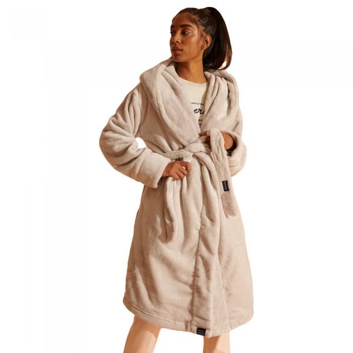 [해외]슈퍼드라이 Supersoft Loungewear Robe Grey