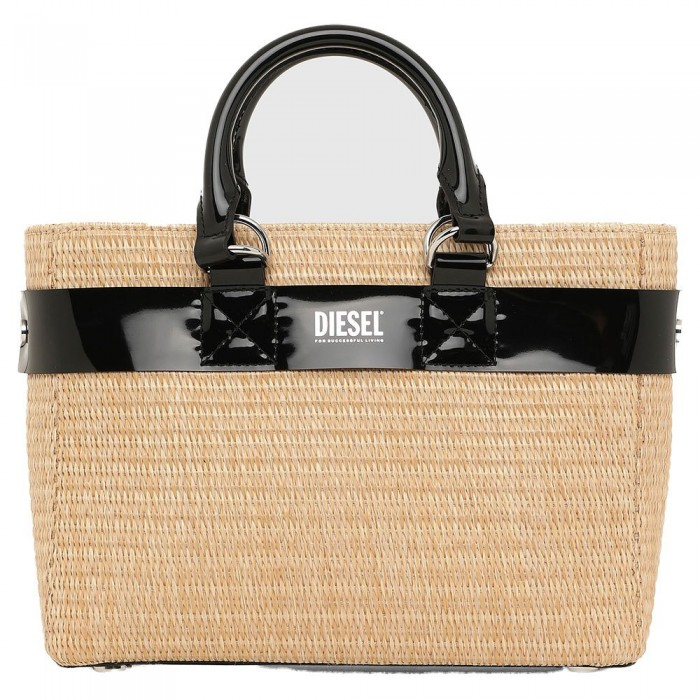 [해외]디젤 Pichie Laja S Handbag Natural / Black