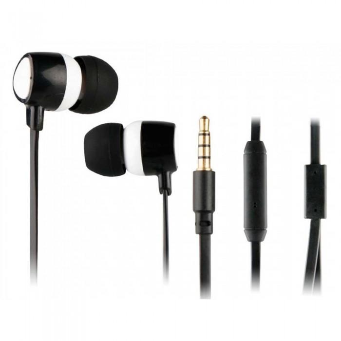 [해외]MYWAY Stereo 3.5 mm Headphones With Microphone 14137550948 White / Black