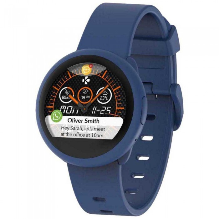 [해외]MYKRONOZ ZeRound 3 Watch 14137550920 Navy Blue Lite