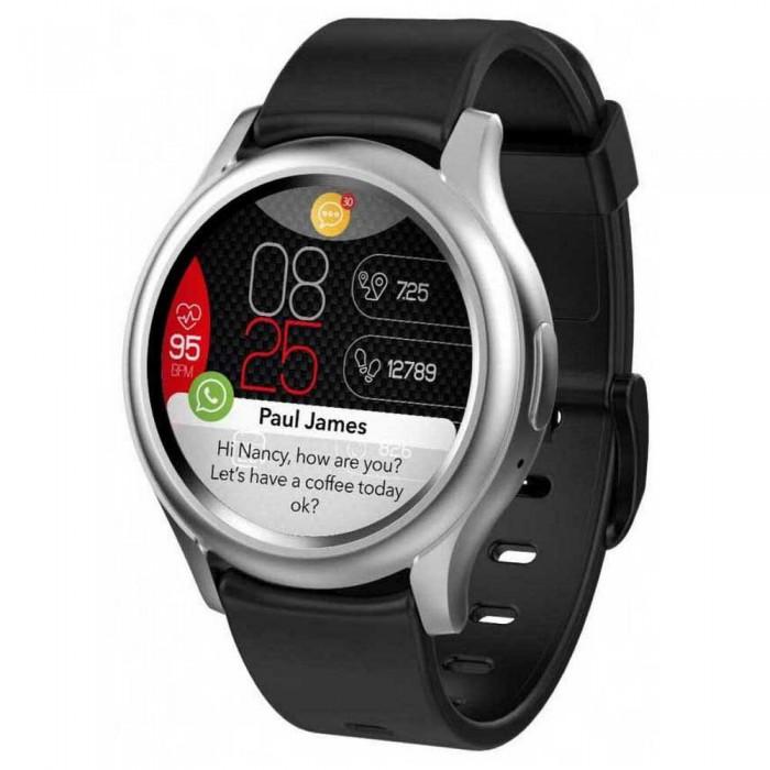 [해외]MYKRONOZ ZeRound 3 Watch 14137550924 Silver / Black
