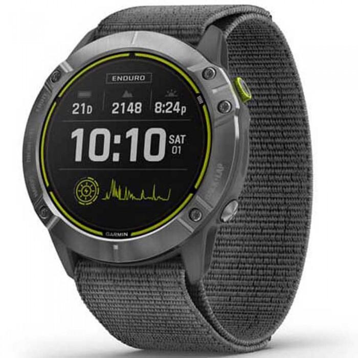 [해외]가민 Enduro Watch 14138006922 Silver / Grey / Slate Grey