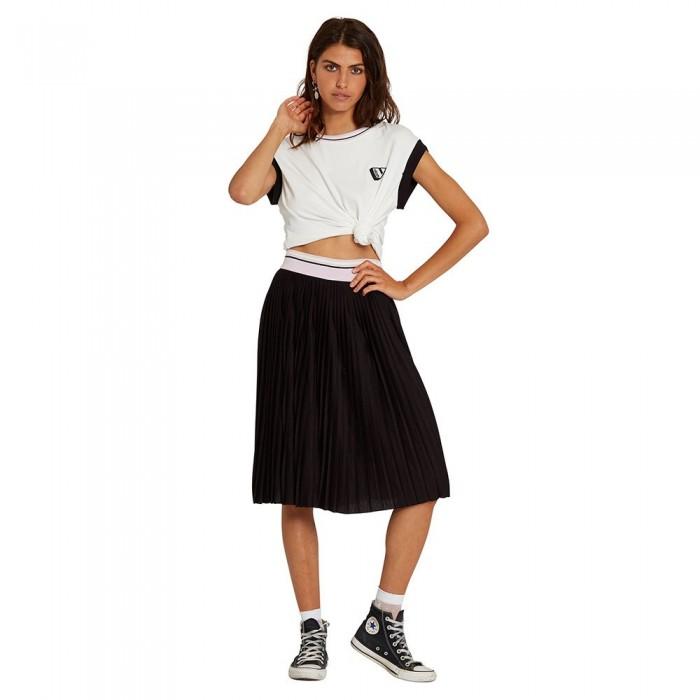 [해외]볼컴 Siiya Skirt 14137889938 Black