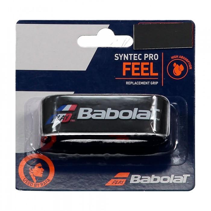 [해외]바볼랏 Syntec Pro Tennis Grip 12137923160 Blue / White / Red