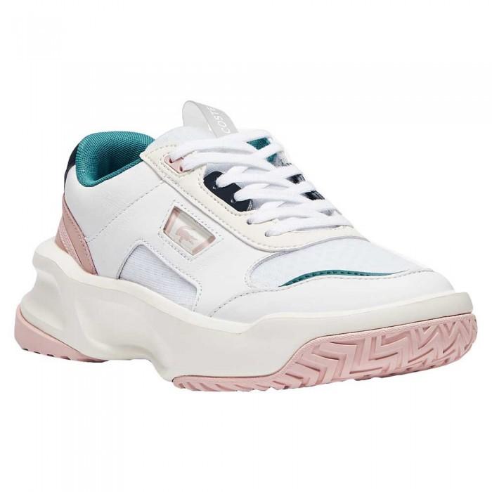 [해외]라코스테 41SFA0030 12137944447 White / Light Pink