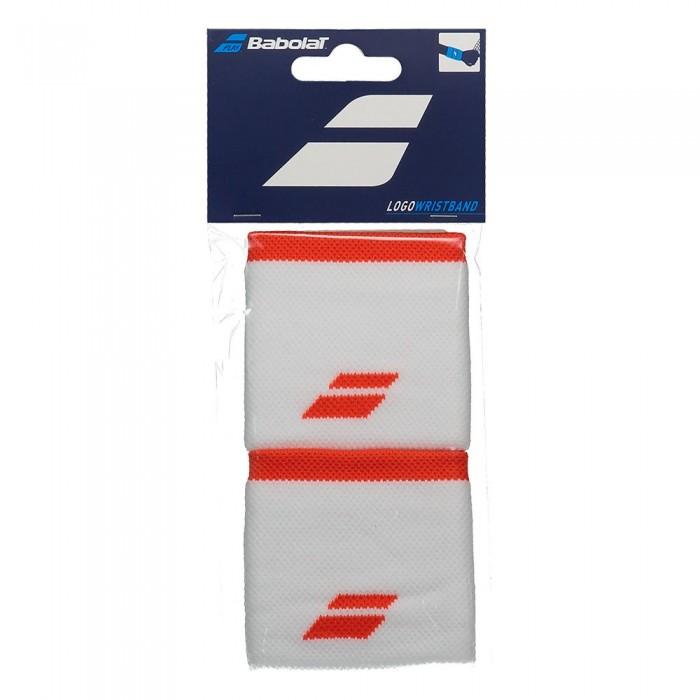 [해외]바볼랏 Logo 12137923153 White / Fiesta Red