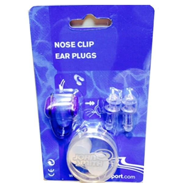 [해외]JOHN 스미스 Nose Clip+Ear Plugs 6138012368 White