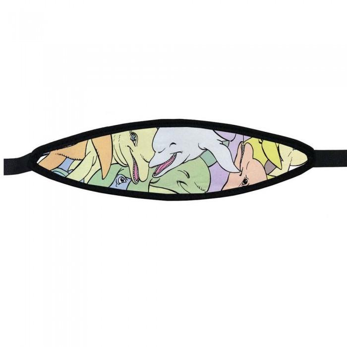 [해외]BEST DIVERS Neoprene Mask Strap 10 Dolphin 10136810070 With Velcro