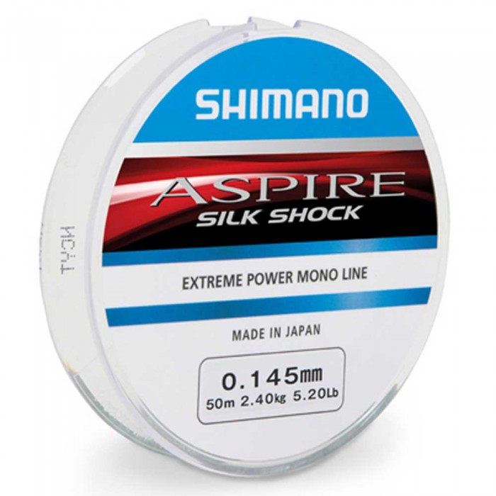 [해외]시마노 FISHING Aspire Silk Shock 150 m 8137758296 Clear