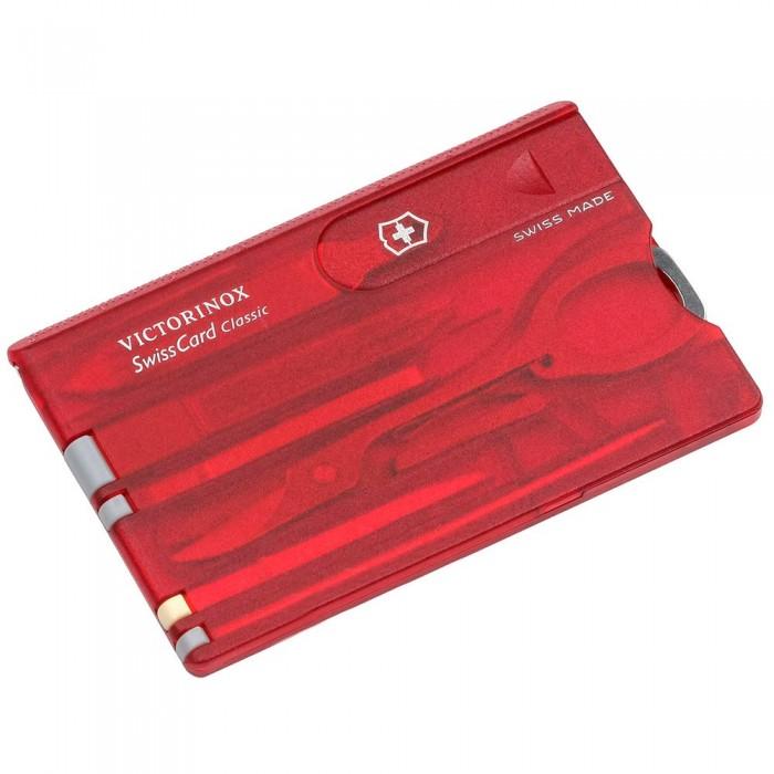 [해외]빅토리녹스 Swisscard Transparent 8137805536 Red
