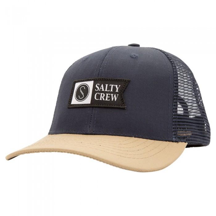 [해외]SALTY CREW Pinnacle Retro 8137691819 Navy / Tan