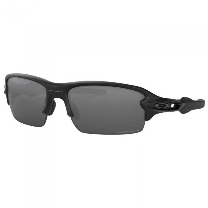 [해외]오클리 Flak XS Polarized Prizm Youth 8136875200 Matte Black