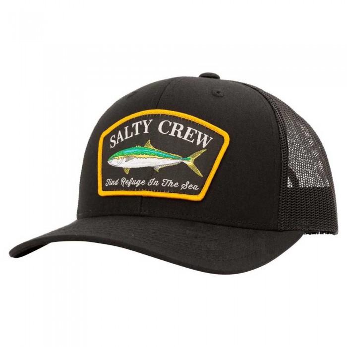 [해외]SALTY CREW Mossback Retro Trucker 8137984464 Black