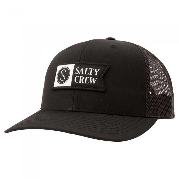[해외]SALTY CREW Pinnacle 2 Retro Trucker 8137984474 Black