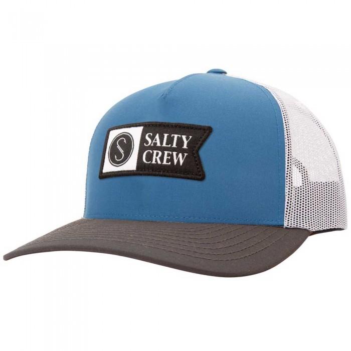 [해외]SALTY CREW Pinnacle 2 Retro Trucker 8137984475 Blue / Grey