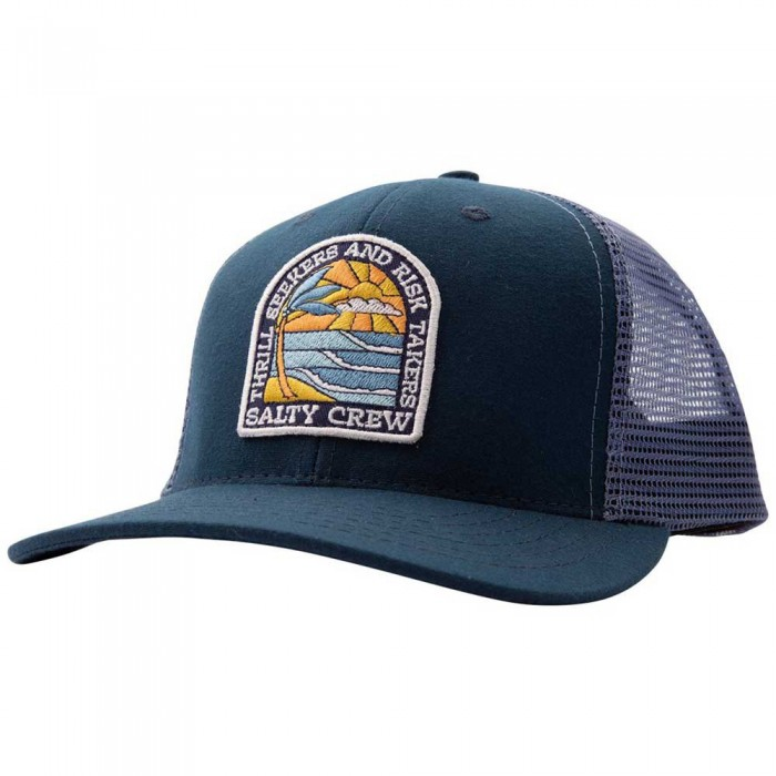 [해외]SALTY CREW Paradiso Retro Trucker 8137984489 Navy