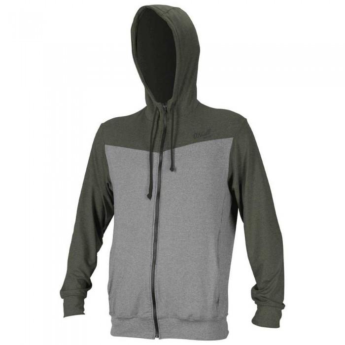 [해외]오닐 웻슈트 Blueprint Full Zip Sweatshirt 14137953225 Overcast / Ghostgreen