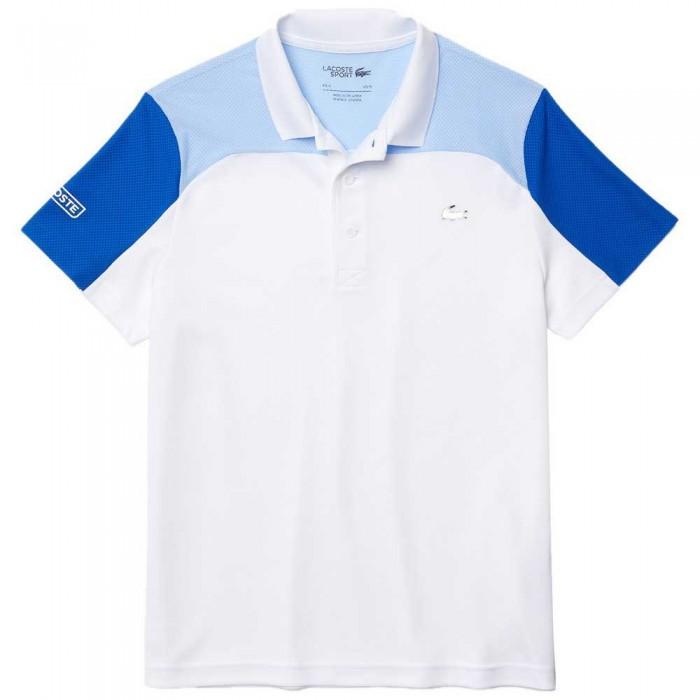 [해외]라코스테 Sport Breathable ColorBlock 7137944540 Blanc / Nattier 07E-Lazuli