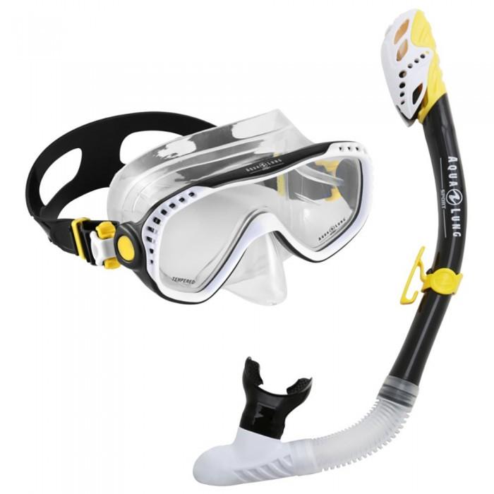 [해외]아쿠아렁 SPORT Combo Compass Pro LX 10137941250 Black / Yellow