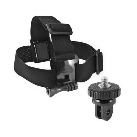 [해외]KSIX Head Harness for GoPro and Sport Cameras 61278753 Black