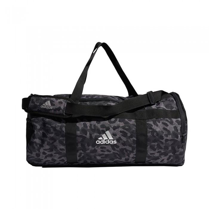 [해외]아디다스 4 Athletes Duffle M 6137894264 Grey Four / Dgh Solid Grey / Black