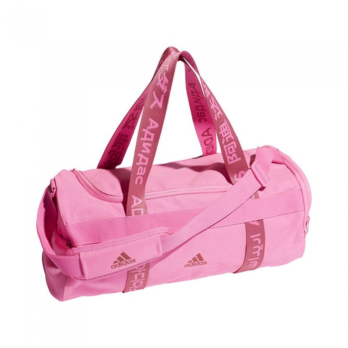 [해외]아디다스 4Athlts Duffel 21.5L 6137894485 Screaming Pink / Screaming Pink / Wild Pink