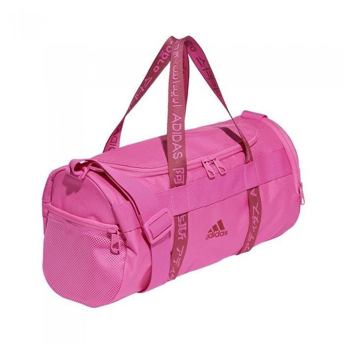 [해외]아디다스 4Athlts Duffel 14L 6137894486 Screaming Pink / Screaming Pink / Wild Pink