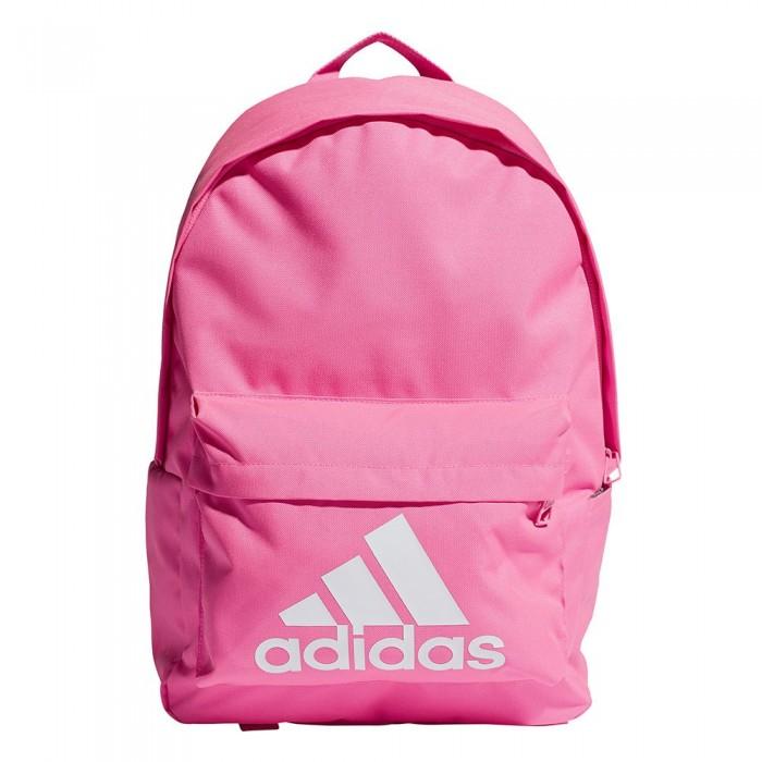 [해외]아디다스 Classic Big Logo 27.5L 6137894268 Screaming Pink / White