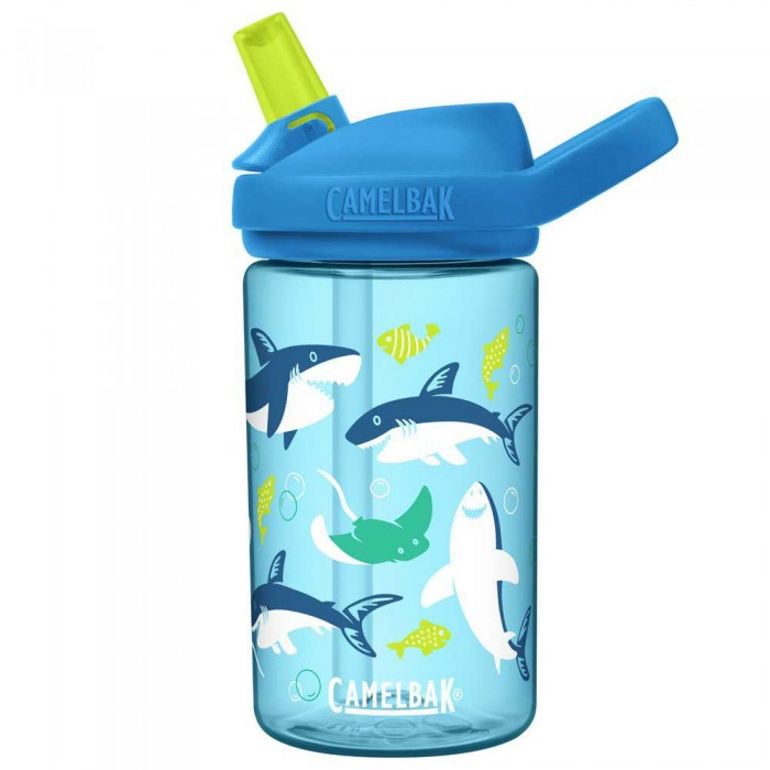 [해외]카멜백 Eddy+ Kids 400 ml 6137771503 Sharks / Rays