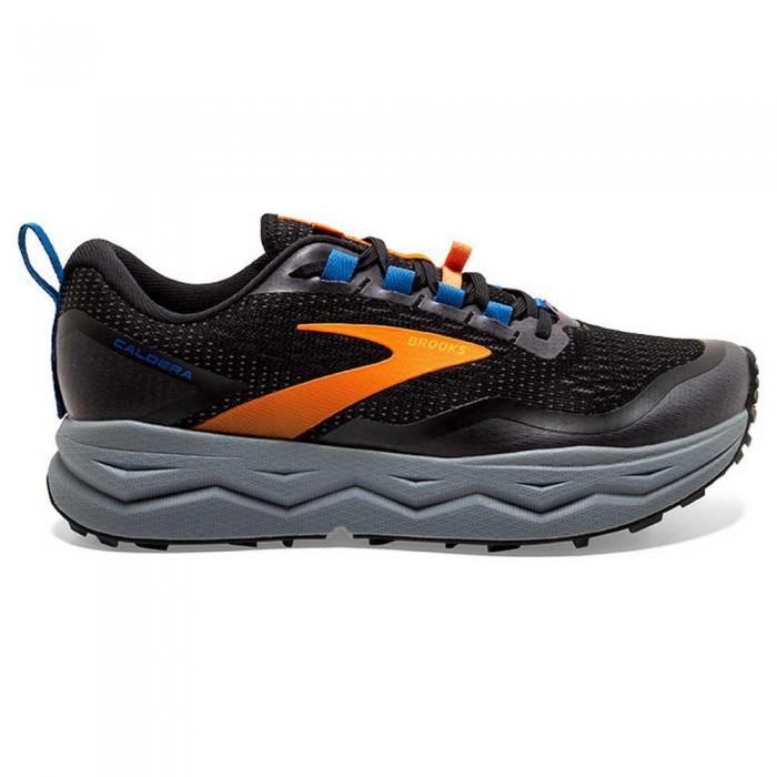 [해외]브룩스 Caldera 5 6137860029 Black / Orange / Blue