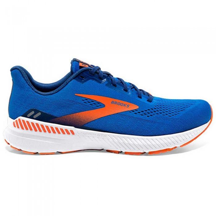 [해외]브룩스 Launch GTS 8 Wide 6137860076 Blue / Orange / White