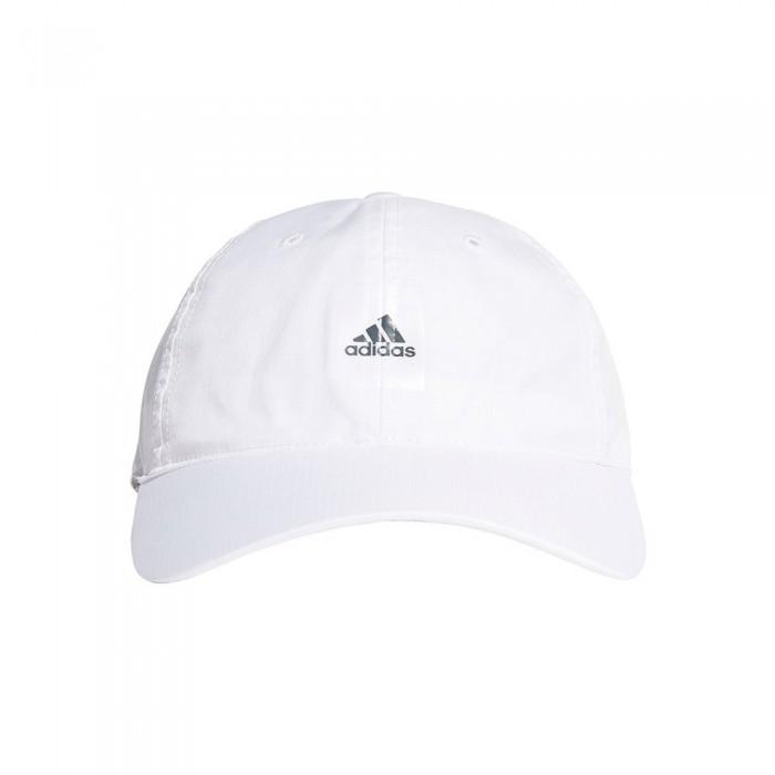 [해외]아디다스 Essentials Logo Lightweight 6137894411 White / Grey Six