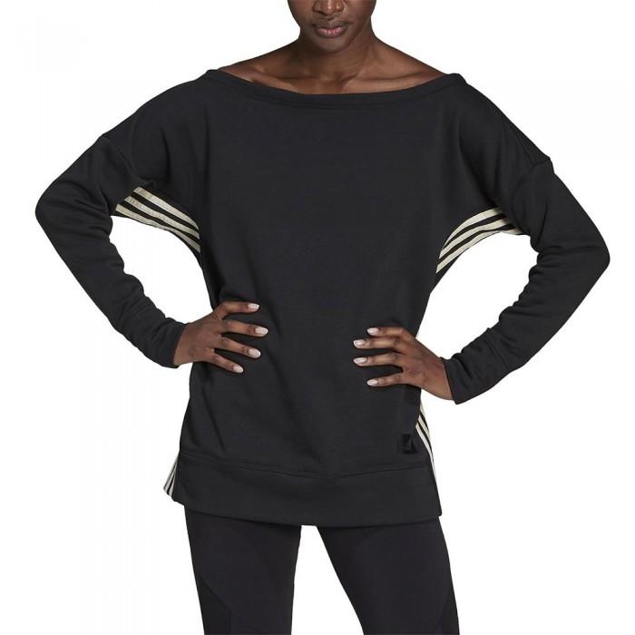 [해외]아디다스 Womens Recycled Cotton Cover-Up 6137925651 Black