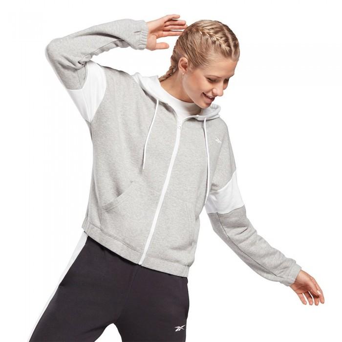 [해외]리복 Essentials Linear Logo 6137939784 Medium Grey Heather