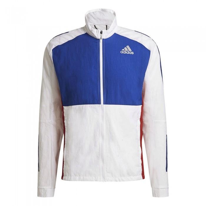 [해외]아디다스 Own The Run Response Track 6137950082 White / Team Royal Blue / Scarlet