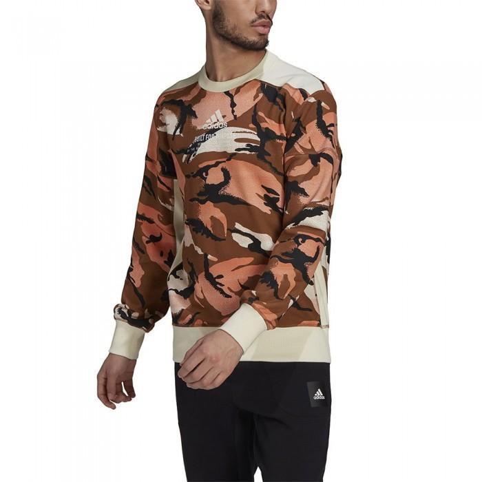 [해외]아디다스 Sportswear Z.N.E. Graphic 6137927309 Wild Brown / Cream White / Hazy Copper