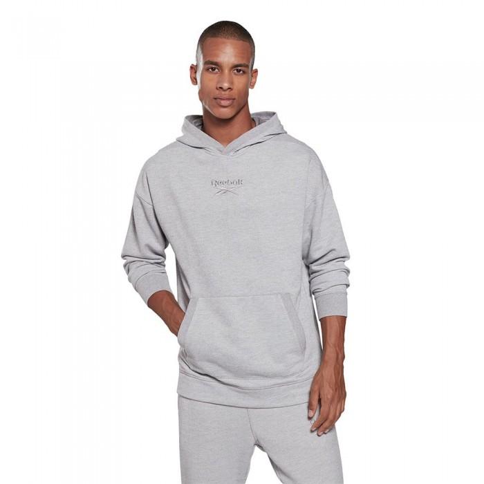 [해외]리복 Essentials Linear Logo Melange 6137939435 Medium Grey Heather
