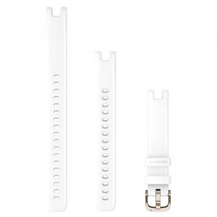 [해외]가민 Lily Strap 14 mm 14137988277 White / Cream Gold